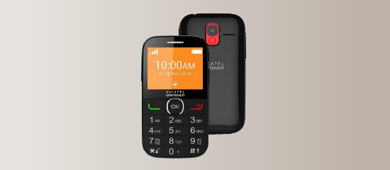 Alcatel One Touch 2004C a basic feature phone ideal for Seniors | Amóvil